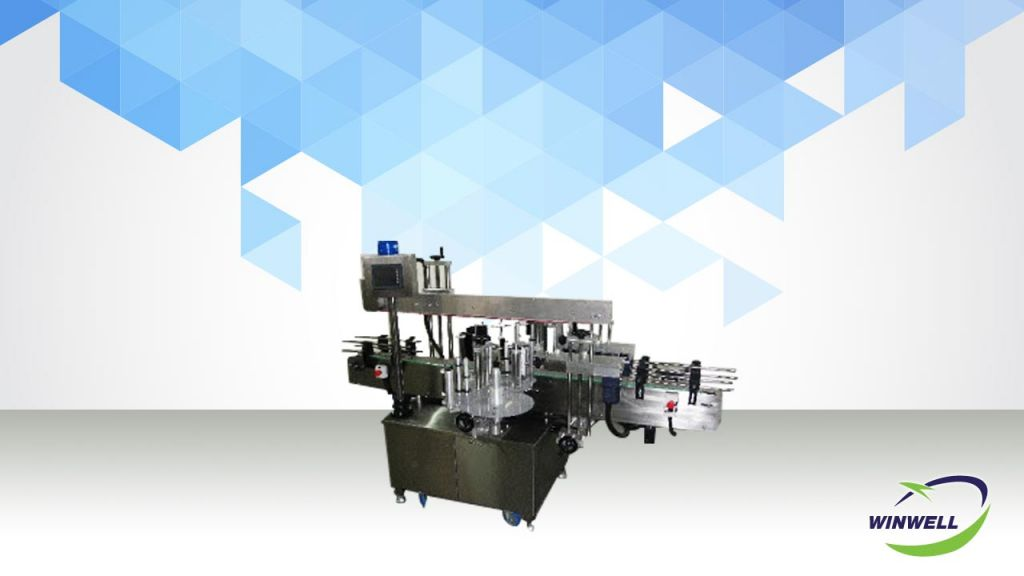 Sticker Labeling Machine (2 sides labeling)