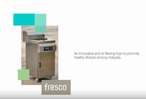 Fresco Water And Oil Filtering Fryer